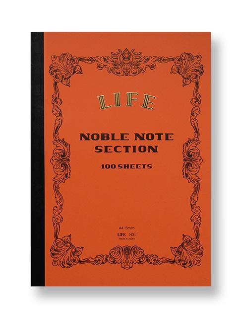 LIFE Noble Notebook -Tokyo Pen Shop Quill-